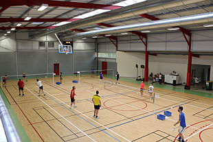 Salle de badminton Périgueux Dordogne 24 à Notre-Dame de Sanilhac